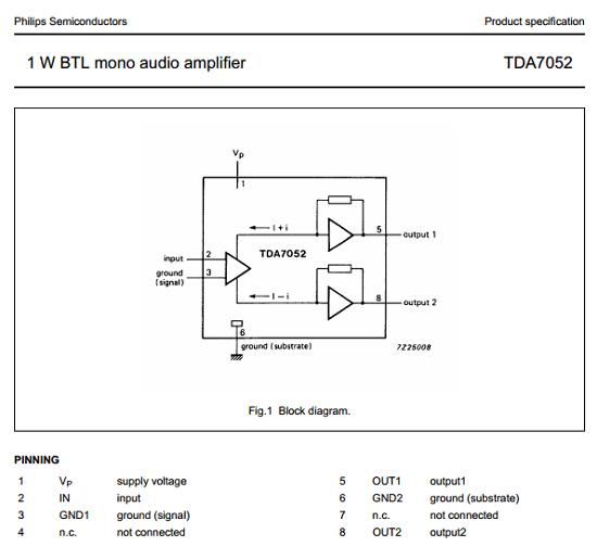 TDA7052A/N2