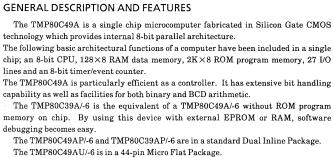 TMP80C39AP