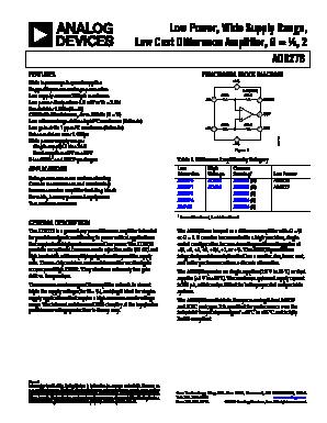 AD8278 image