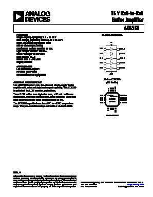 AD8560 image