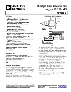 AD9516-3 image