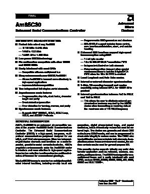 AM85C30 image