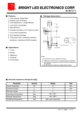 BL-B4141-L image