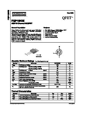 FQP16N25 image
