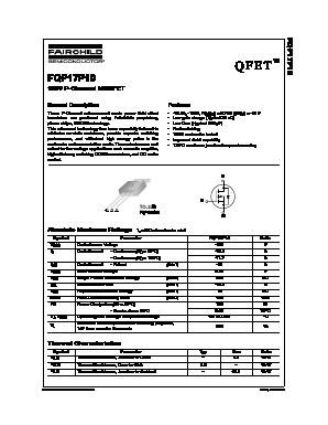 FQP17P10 image