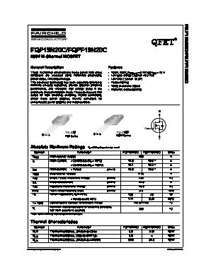 FQP19N20C image