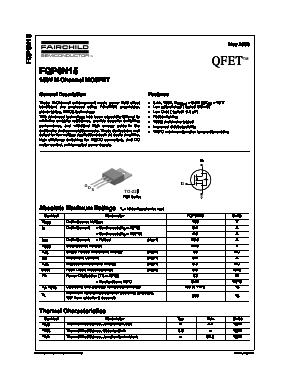 FQP6N15 image