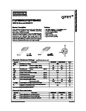 FQPF6N40C image