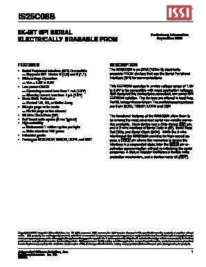 IS25C08B image