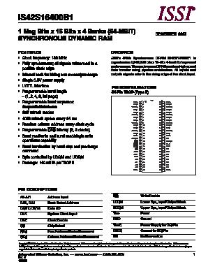 IS42S16400B1 image