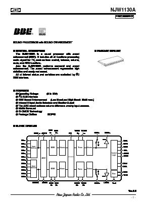 NJW1130A image