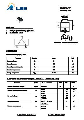 BAV99W image