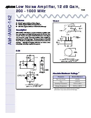 AMC-142SMA image
