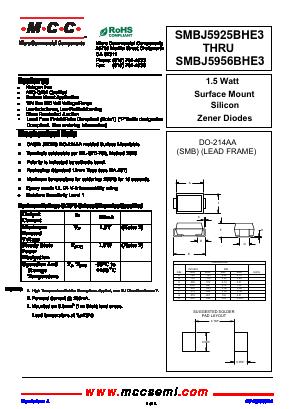 SMBJ5954BHE3 image