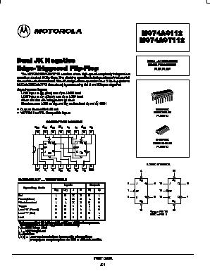 MC74AC112D image