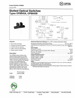 OPB845B image