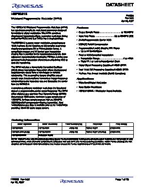 HSP50415EVAL1 image