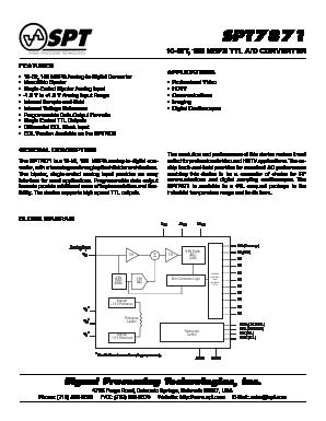 SPT7871SCU image