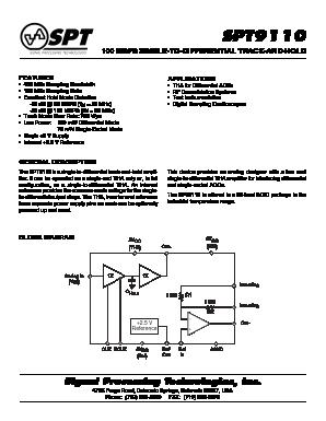 SPT9110SIS image