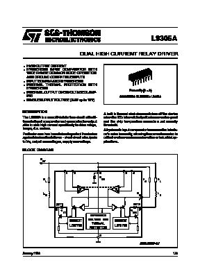 Скачать L9302-AD pdf datasheet