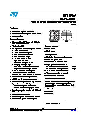 ST21F384 image