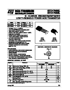 STD17N05L image