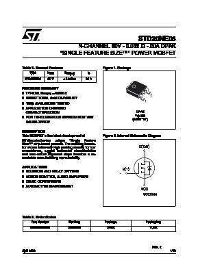 STD20NE06 image