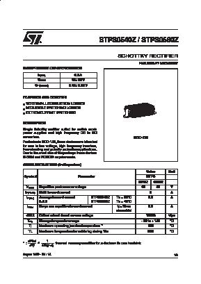STPS0560Z image