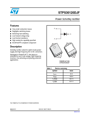 STPS30120DJF-TR image