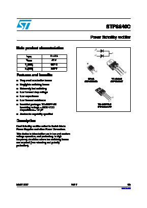 STPS640CB image