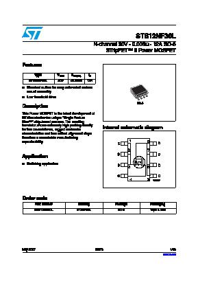 STS12NF30L image
