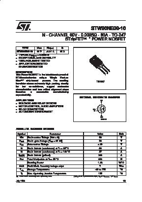 STW80NE06-10 image