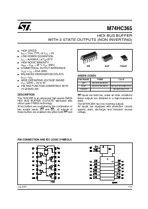 M74HC365 image