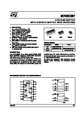 M74HC367 image