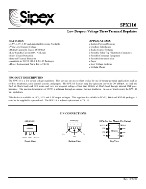SPX116 image