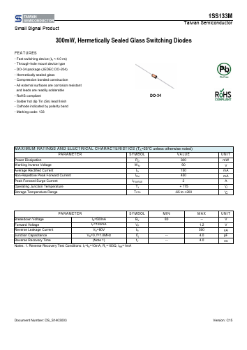 1SS133M image
