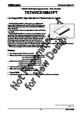 TC74VCX16841FT image