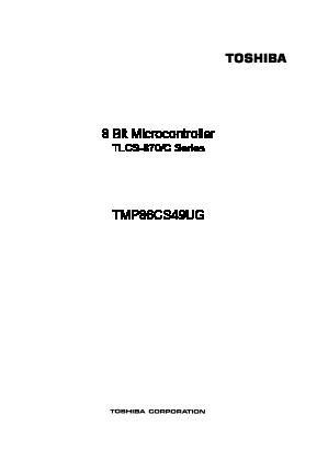 TMP86CS49UG image