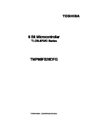 TMP86FS28DFG image