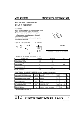 DTA144T image