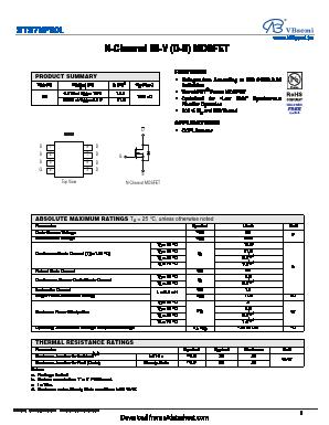 STS7NF60L image