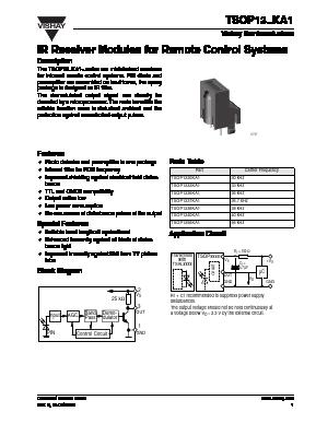 TSOP1340KA1 image